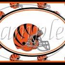Cincinnati Bengals ~ Faux NFL Football Teams ~ MINI Candy Bar Wrapper