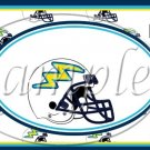 San Diego Chargers ~ Faux NFL Football Teams ~ MINI Candy Bar Wrapper