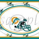 Miami Dolphins  ~ Faux NFL Football Teams ~  MINI Candy Bar Wrapper