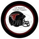 Atlanta Falcons ~ (Faux) Cupcake Picks & Toppers