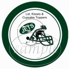 New York Jets ~ (Faux) Cupcake Picks & Toppers
