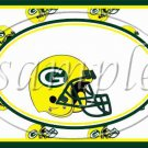 Green Bay Packers ~ Faux NFL Football Teams ~  MINI Candy Bar Wrapper