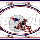 New England Patriots ~ Faux NFL Football Teams ~  MINI Candy Bar Wrapper