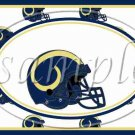 St. Louis Rams ~ Faux NFL Football Teams ~  MINI Candy Bar Wrapper