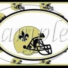 New Orleans Saints ~ Faux NFL Football Teams ~  MINI Candy Bar Wrapper