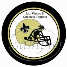 New Orleans Saints ~ (Faux) Cupcake Picks & Toppers