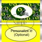 University of Oregon #1 Faux Standard Size Candy Bar Wrapper