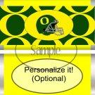 University of Oregon #2 Faux Standard Size Candy Bar Wrapper