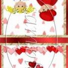 Valentine Couple Mintbook Matchbook Wrapper  ~ 3 Dozen