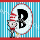 Cat In The Hat Faux Dr. Seuss MINI Candy Bar Alphabet & Numbers Wrappers