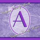 Domestic Violence MINI Candy Bar Alphabet & Numbers Wrappers