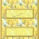 Yellow Rose  Candy Bar Wrapper