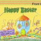 Bunny House ~ Easter ~ Gallon Can Set