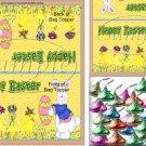 Bunny House  ~ Easter ~ Bag Topper