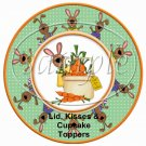 Carrots Anyone? ~ Easter ~ Cupcake Picks & Toppers