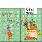 Carrots Anyone? ~ Easter ~ Utensil & Napkin Holder ~ 1 Dozen