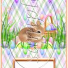 Pastel Bunny  ~ Easter ~ MINI Candy Bar Wrappers