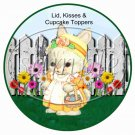Easter Friends  ~ Easter ~ Cupcake Picks & Toppers