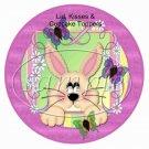 Fuzzy Bunny ~ Easter ~ Cupcake Picks & Toppers