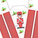 Toy Solider ~ Christmas ~ Cake Slice Box