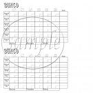 Bunco Game Scorecards Set 2