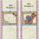 I'm Not Messy, I'm Creative ~  MINI Candy Bar Wrapper