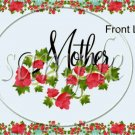 Flowered Mother's Day Gallon Can Set