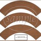 Linen Brown ~  Cupcake Paper Wrappers ~ Set of 1 Dozen