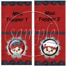 Raggedy Ann Set #1 Mini Mint Toppers & Mints   (50 ct)