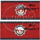 Raggedy Ann Set #1 ~ MINI Candy Bar Wrappers