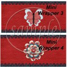 Raggedy Ann Set #2 ~ MINI Candy Bar Wrappers