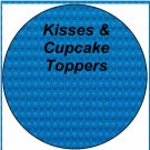 Faux Lego Legos #9 ~ Cupcake Picks & Toppers