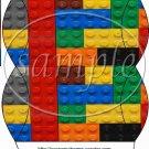 Faux Lego Legos #3 ~ Pillow Box