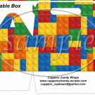 Faux Lego Legos #3 ~ Gable Box