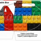 Faux Lego Legos #4 ~ Gable Box