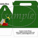 Faux Lego Legos #6 ~ Gable Box