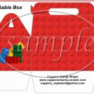 Faux Lego Legos #7 ~ Gable Box