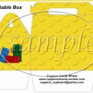 Faux Lego Legos #8 ~ Gable Box