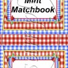 Kitchen of Love  ~ Mint Matchbook Cover