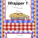 Kitchen of Love   ~ MINI Candy Bar Wrapper