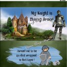 Knight In Shinning Armor ..... Duct Tape #1 ~ Candy Bar Wrapper