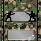 Call Of Duty #3 ~ Candy Bar Wrapper