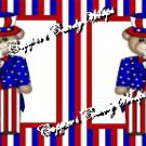 4th of July #7 ~ Food or Cupcake Picks & Toppers