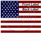 American Flag  ~ Gallon Can Set