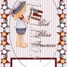 Bless the USA ~ MINI Candy Bar Wrapper