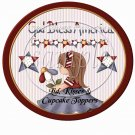Bless the USA   ~ Cupcake Picks & Toppers