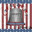 Let Freedom Ring #1 ~ Gallon Can Set