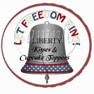 Let Freedom Ring #1  ~ Cupcake Picks & Toppers