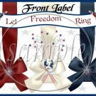 Let Freedom Ring #2 ~ Gallon Can Set