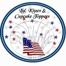 Let Freedom Ring #2  ~ Cupcake Picks & Toppers